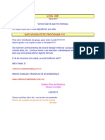 Sistema Contabilidade Planilha Excel