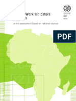 Decent Work Indicators in Africa - A first assessment based on national sources