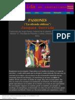 Derrida, Jacques - Pasiones