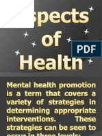 Aspects of Health