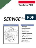 Xerox WorkCentre PE16 Service Manual