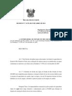 Decreto 23.379 Disciplina a Atividade Psicultura No Rn