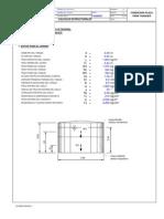 Fundacion Tanque Placa Octagonal