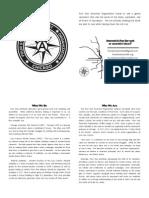 Four Star Anarchist Organization Intro Zine