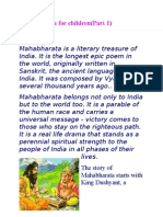 Mahabharata for kids