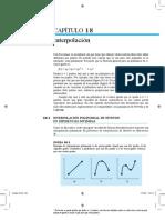 Chapra Metodos 5e Capitulo Muestra c18 Interpolacion