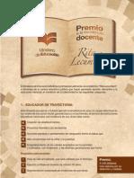 Bases Del Premio Rita Lecumberri
