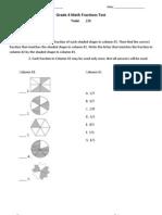 fractions test - kelsey boulton