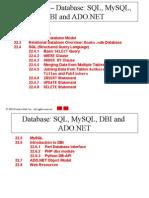 4.1 Database Models