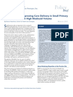Key Factors for Improving Care in Small Primary Care Practices