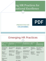 Emerging HR Practices