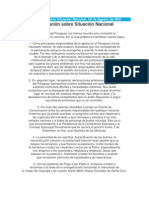 Declaración sobre Situación Nacional_CEP_2001