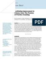 Facilitating Improvement Primary Care Practice Coaching