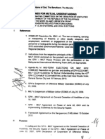 MOU for the May 2013 Midterm Elections