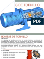Bombas de Tornillo