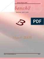 Current Affairs Magazine March 2009 Bench3