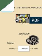 1.4.- SISTEMAS DE PRODUCCIÓN