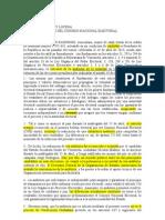 Documento Comando SB ante el CNE solicitando verificación ciudadana