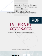 Internet Governance Booklet