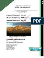 Document BLM Ely Delamar MValley Mormon WMP