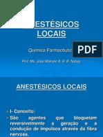 6 - ANESTÉSICOS LOCAIS