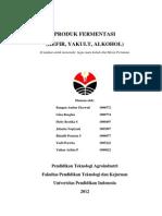 PRODUK FERMENTASI (KEFIR, YAKULT, ALKOHOL)