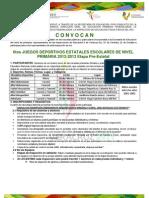 Convocatoria Prestatal de 6JDENP 2013 (1)