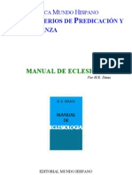 Bmh_018 Manual de Eclesiolog-A