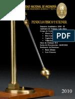 Informe FÍSICA II - PENDULO FISICO Y TEOREMA DE STEINER