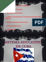 Sistema Educativo de Cuba