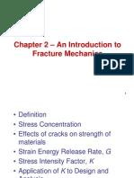 Chapter 2 - General Fracture Mechanics