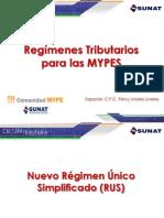 Regimenes Tributarios MYPES.ppt