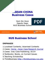 Asean-china Biz Cases