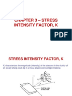 Chapter 3 - Stress Intensity Factor