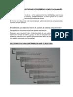 Resumen Capitulo 8 de Auditoria en Sistemas Computarizados