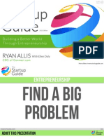 The Startup Guide - Find a Big Problem