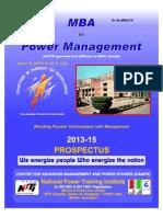 MBA Prospectus (2013-15)