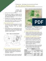 Oil Shale Resource Fact Sheet