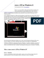 Windows XP No Windows 8