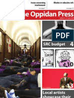 The Oppidan Press. Edition 4. 2013