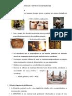 INTRODUÇÃO A MATERIAIS DE CONSTRUÇÃO CIVIL