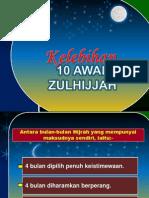 Kelebihan 10 Awal Zulhijjah [AIOshared.com]