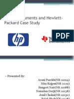 Texas Instruments and Hewlett-Packard
