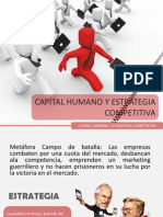 Capital Humano y Estrategia Competitiva
