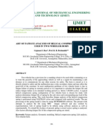 Art of Fatigue Analysis of Helical Compression Spring Used in Two