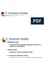 E- Business Models