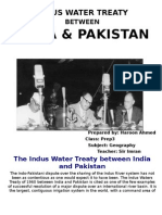 The Indus Water Treaty Between India and Pakistan