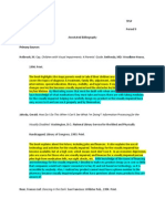 annotated bibliography final tpsp