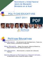 Nicaragua Politicas Mined 2007