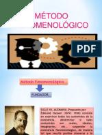 METODO FENOMENOLOGICO